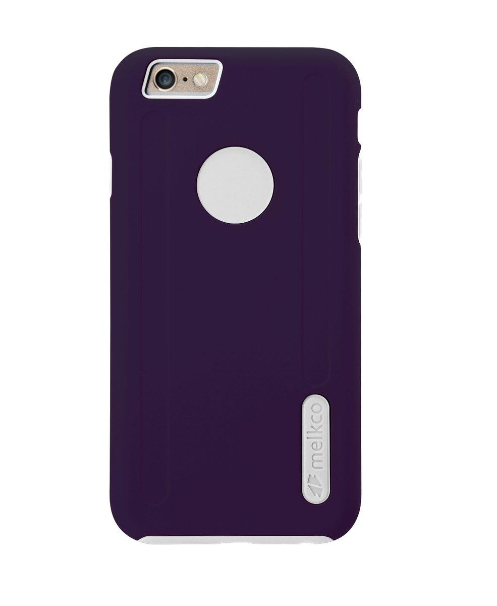 "Kubalt iPhone 6/6S (4.7"")雙層保護手機殼 - 紫色/白色(附送屏幕保護貼)"