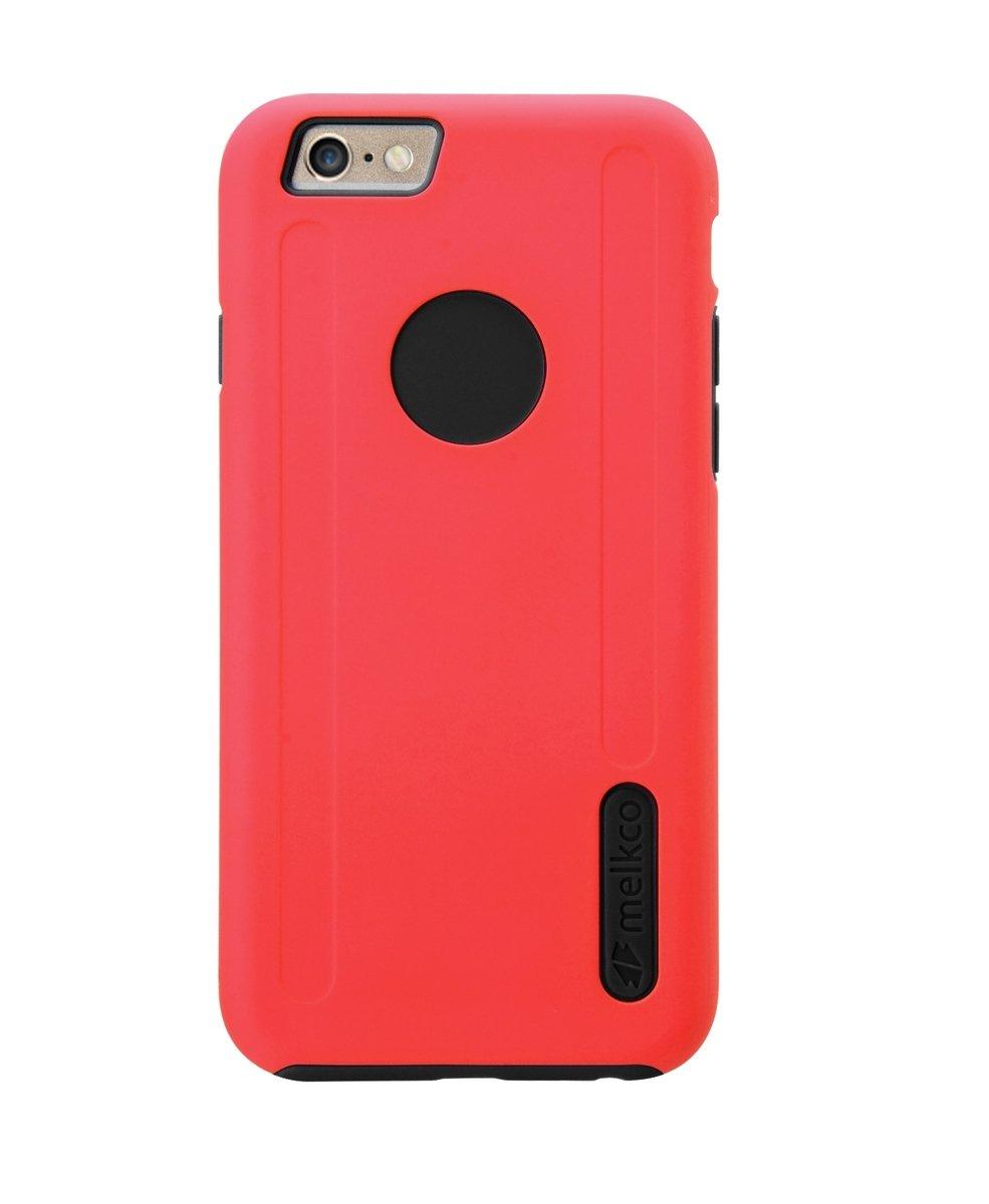 "Kubalt iPhone 6/6S (4.7"")雙層保護手機殼 - 紅色/黑色(附送屏幕保護貼)"