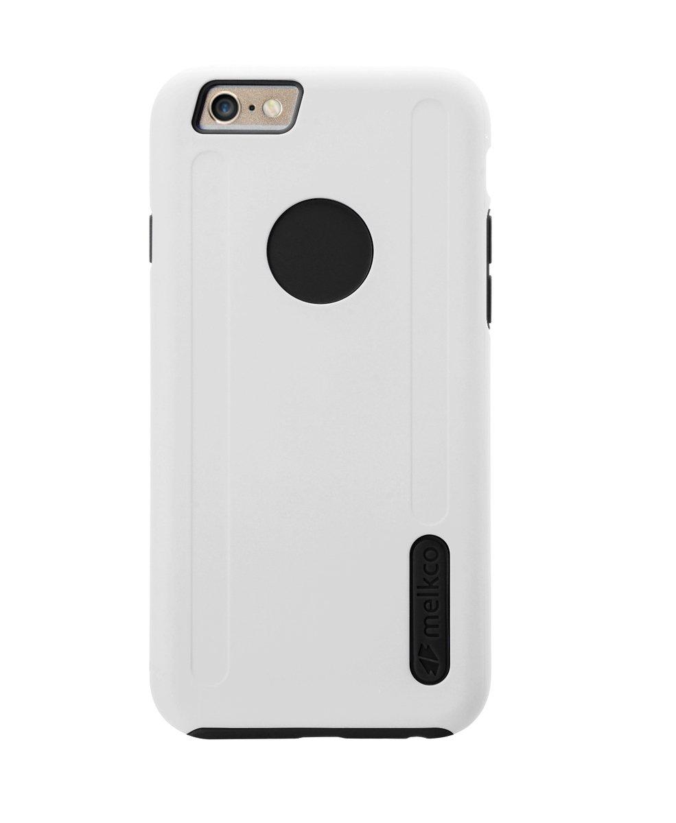 """Kubalt iPhone 6/6S (4.7"""")雙層保護手機殼 - 白色/黑色(附送屏幕保護貼)"""