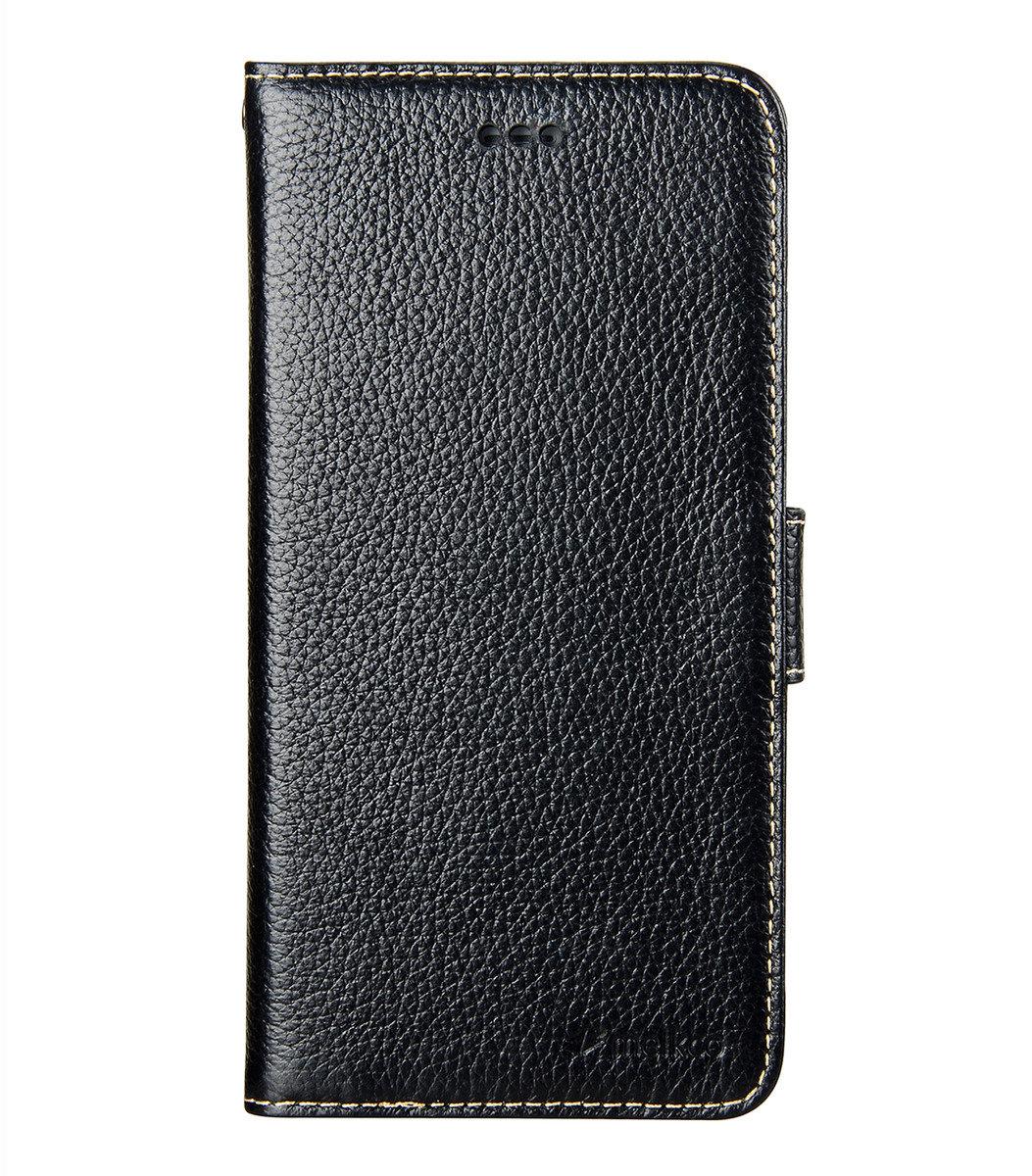 "Melkco- iPhone 6 Plus/6S Plus (5.5"") Wallet Book Type 高級真皮手機套 - 黑色荔枝紋"