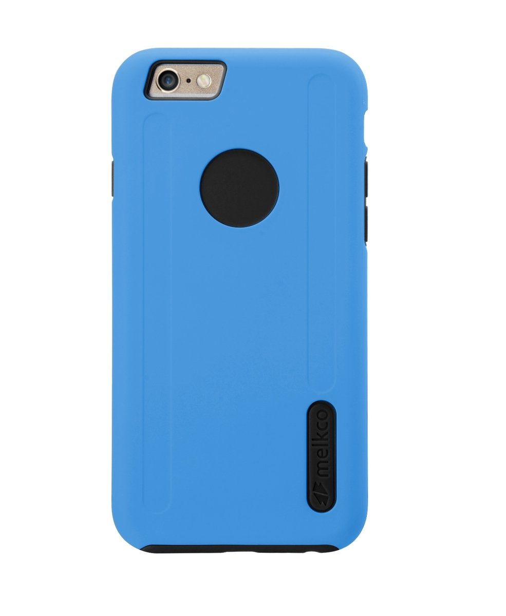 """Kubalt iPhone 6 Plus/6S Plus (5.5"""") 雙層手機保護殼 - 藍色/黑色(附送屏幕保護貼)"""