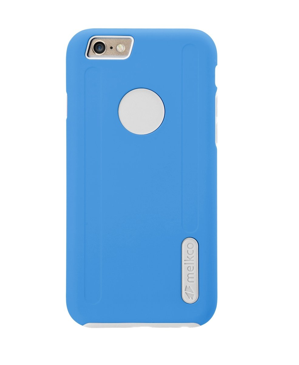 "Kubalt iPhone 6 Plus/6S Plus (5.5"") 雙層手機保護殼 - 藍色/白色(附送屏幕保護貼)"