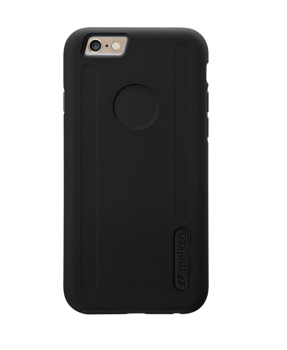 """Kubalt iPhone 6 Plus/6S Plus (5.5"""") 雙層手機保護殼 - 黑色/黑色(附送屏幕保護貼)"""