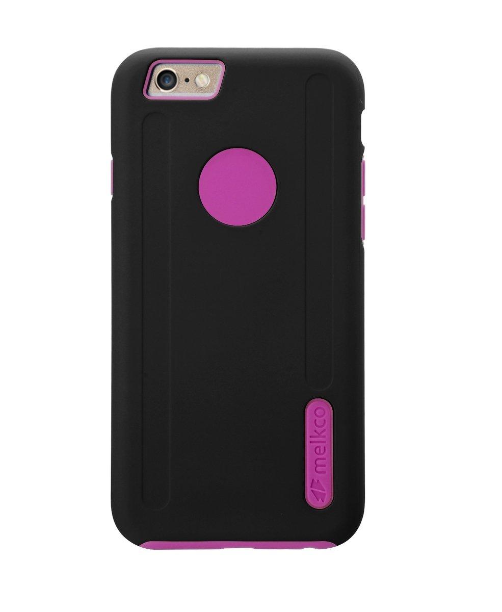 "Kubalt iPhone 6 Plus/6S Plus (5.5"") 雙層手機保護殼 - 黑色/粉紅色(附送屏幕保護貼)"