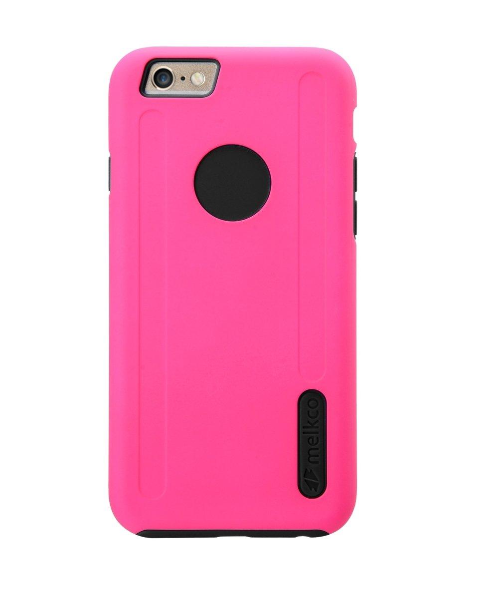 "Kubalt iPhone 6 Plus/6S Plus (5.5"") 雙層手機保護殼 - 粉紅色/黑色(附送屏幕保護貼)"