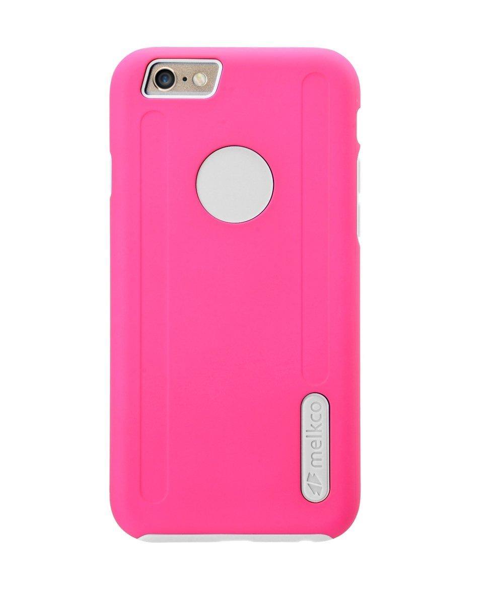 "Kubalt iPhone 6 Plus/6S Plus (5.5"") 雙層手機保護殼 - 粉紅色/白色(附送屏幕保護貼)"
