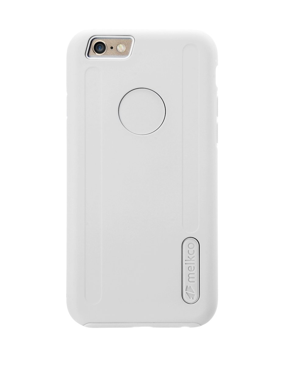 "Kubalt iPhone 6 Plus/6S Plus (5.5"") 雙層手機保護殼 - 白色/白色(附送屏幕保護貼)"