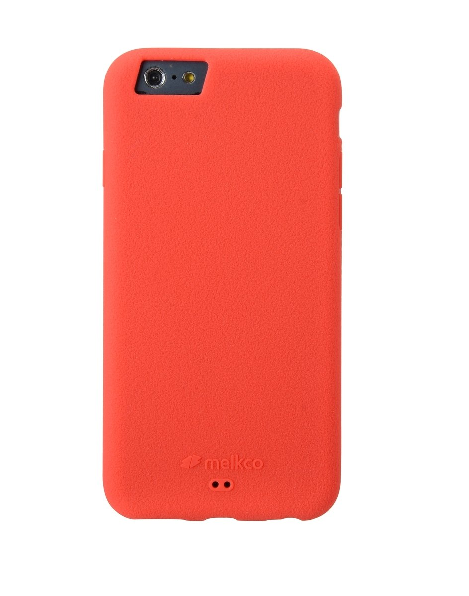 "iPhone 6 Plus/6S Plus (5.5"") Silikonovy 手機保護殼 - 紅色(附送手掛帶/屏幕保護貼)"