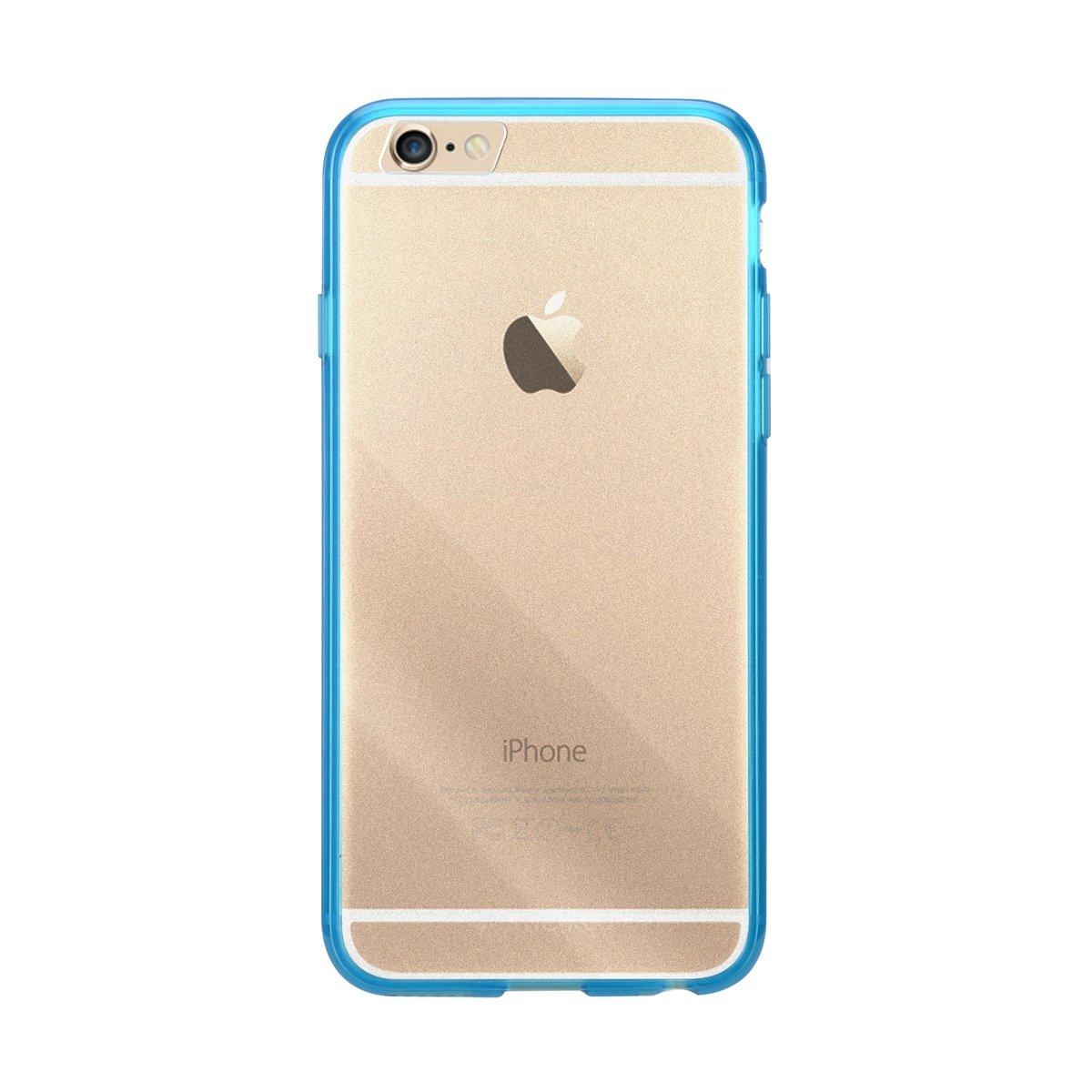 "iPhone 6 Plus/6S Plus (5.5"") PolyUltima手機保護殼 - 透明藍色(附送屏幕保護貼)"