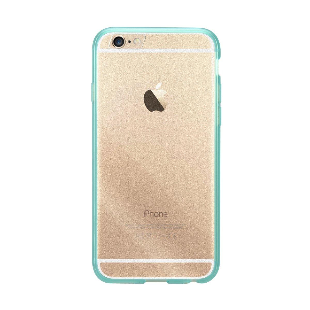 "iPhone 6 Plus/6S Plus (5.5"") PolyUltima手機保護殼 - 透明綠色(附送屏幕保護貼)"