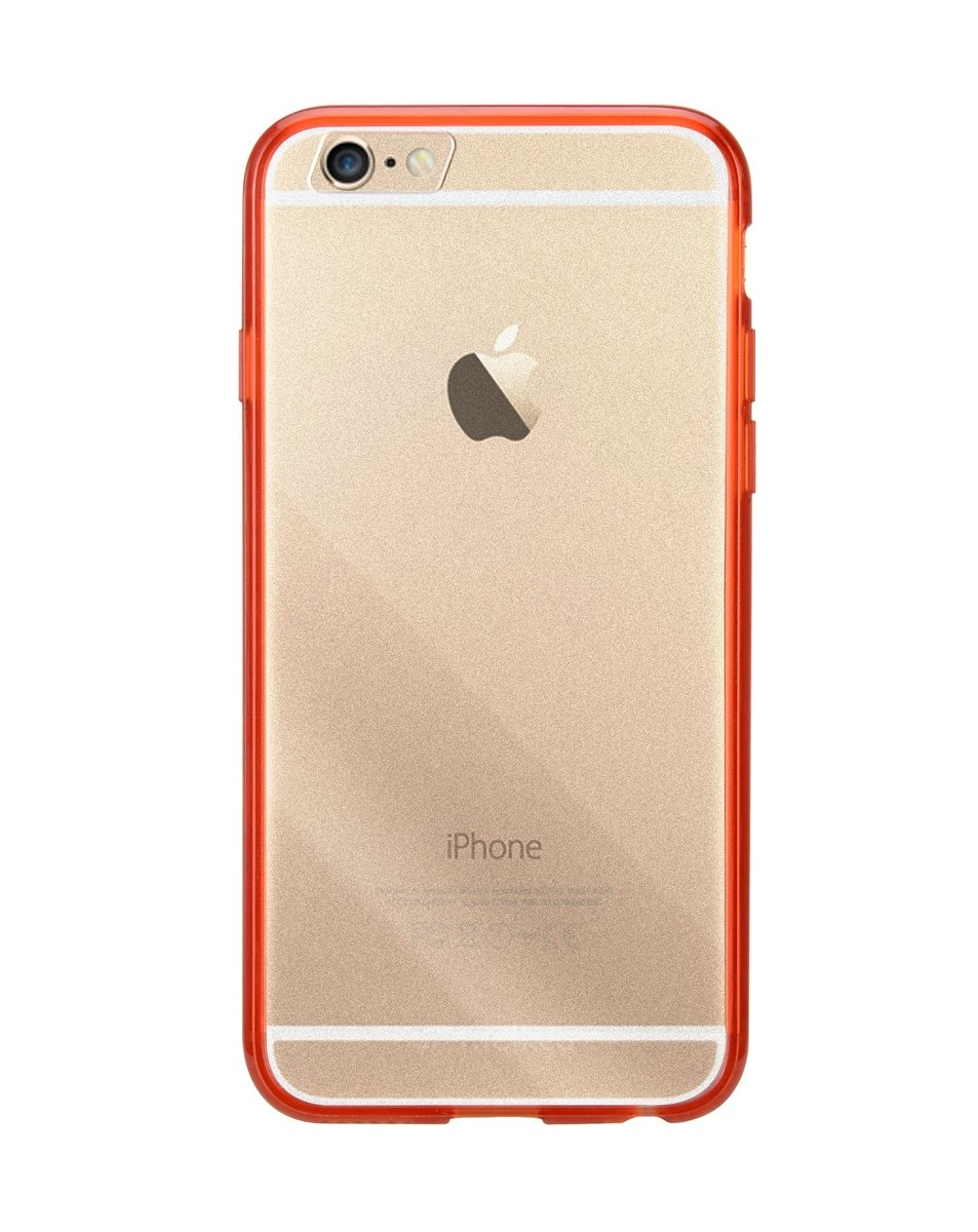 "iPhone 6 Plus/6S Plus (5.5"") PolyUltima手機保護殼 - 透明紅色(附送屏幕保護貼)"