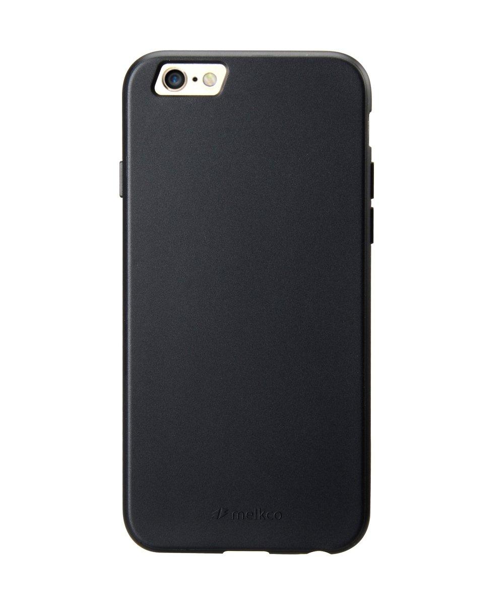 "iPhone 6 Plus/6S Plus (5.5"") Poly Jacket 手機保護殼 - 黑色(附送屏幕保護貼)"