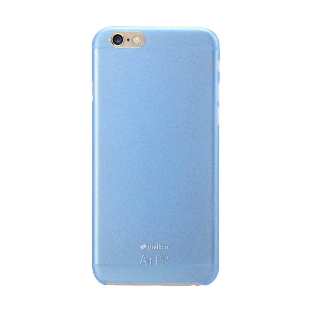 "iPhone 6 Plus/6S Plus (5.5"") Air PP 超薄防刮殼 - 藍色(附送屏幕保護貼)"
