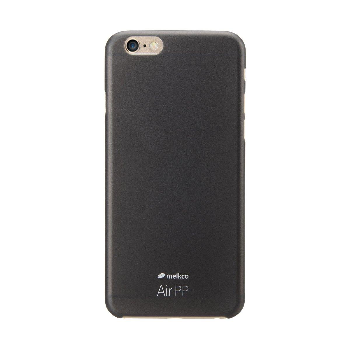 "iPhone 6 Plus/6S Plus (5.5"") Air PP 超薄防刮殼 - 黑色(附送屏幕保護貼)"