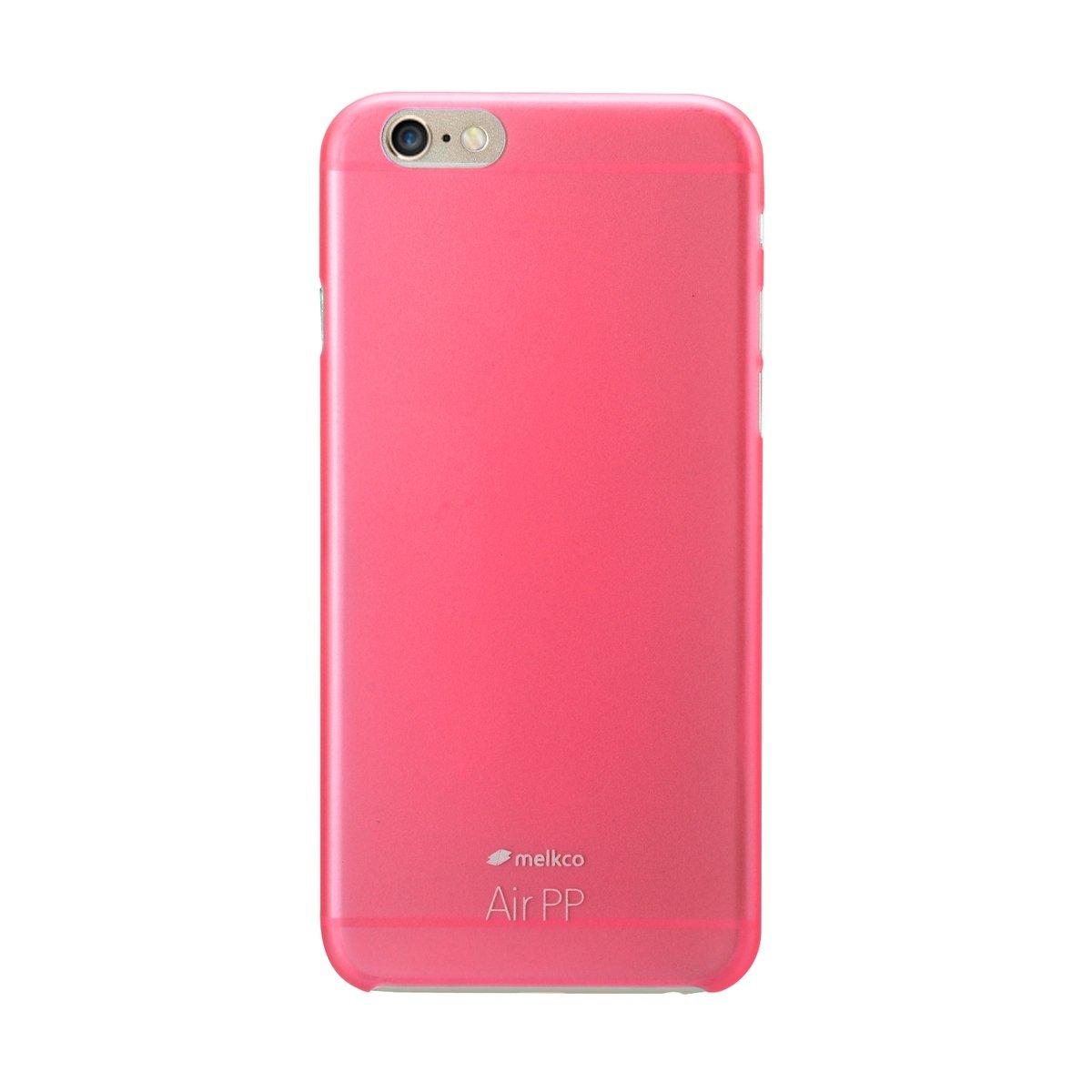 "iPhone 6 Plus/6S Plus (5.5"") Air PP 超薄防刮殼 - 紅色(附送屏幕保護貼)"