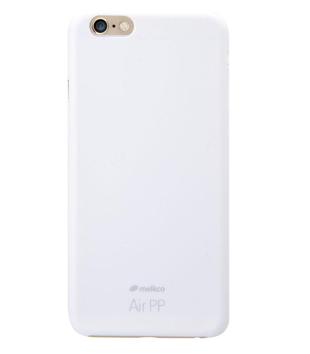 """iPhone 6 Plus (5.5"""") Air PP 超薄防刮殼 (白色) 附送屏幕保護膜"""