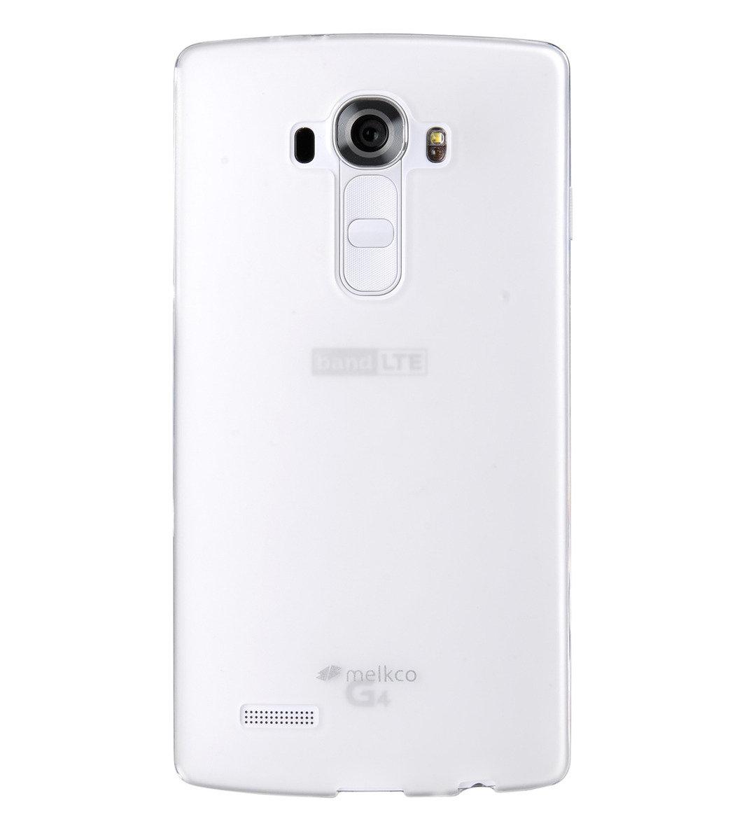 LG Optimus G4 Poly Jacket 手機保護殼 - 透明色(附送屏幕保護貼)