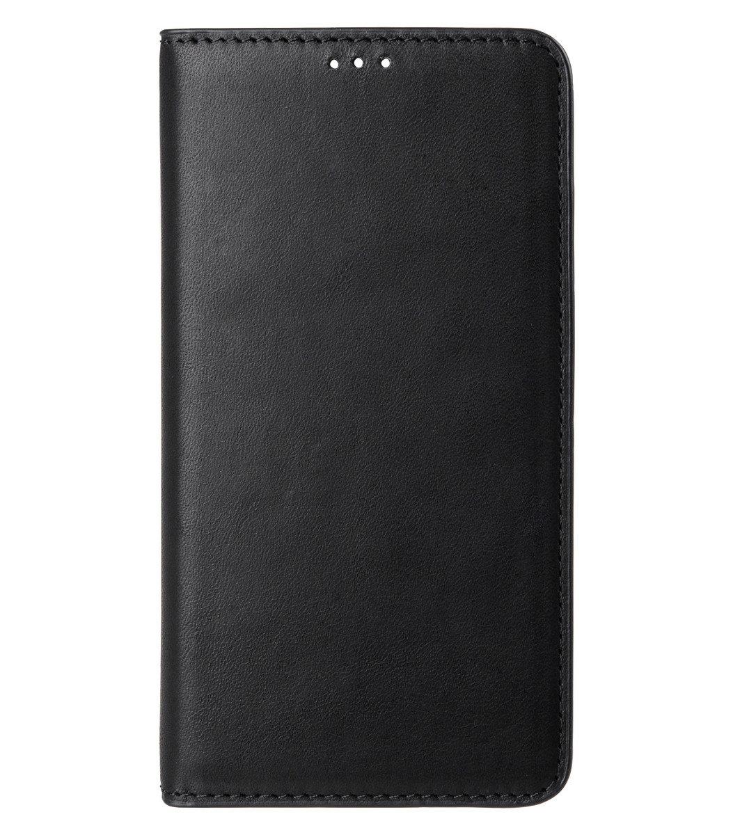 Galaxy S6 Herman Series 意大利真牛皮手機套 - 黑色