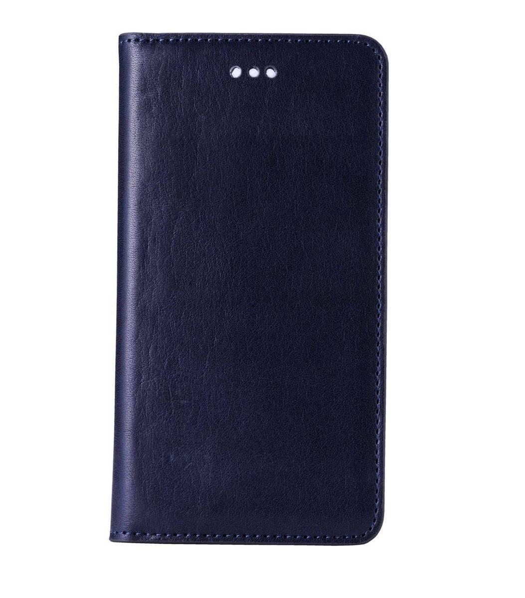 """iPhone 6 Plus/6S Plus (5.5"""") Herman Series 意大利真牛皮手機套 - 深藍色"""