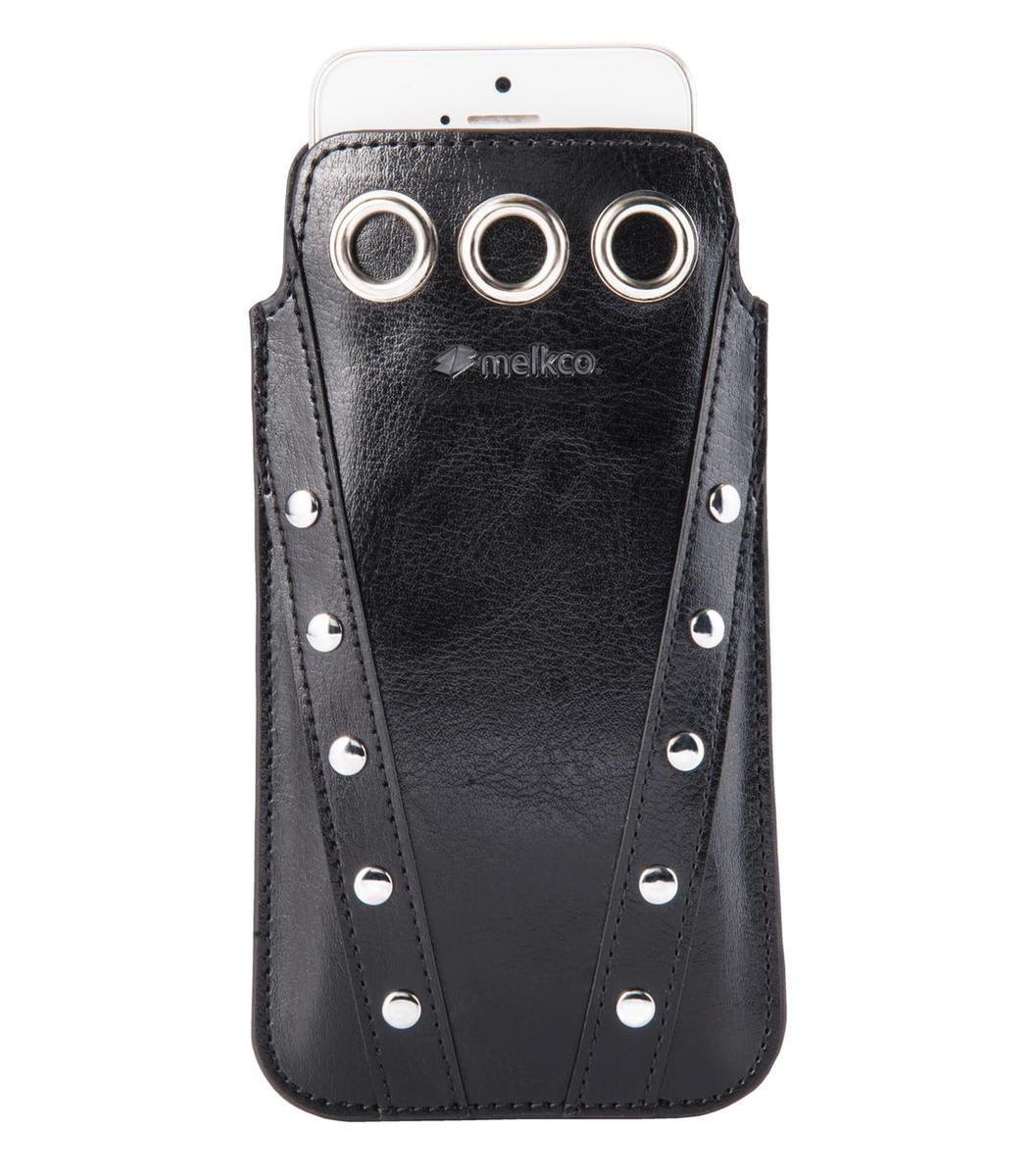 "iPhone 6/6S -4.7"" Prima 系列 人造皮手機套 - 黑色"