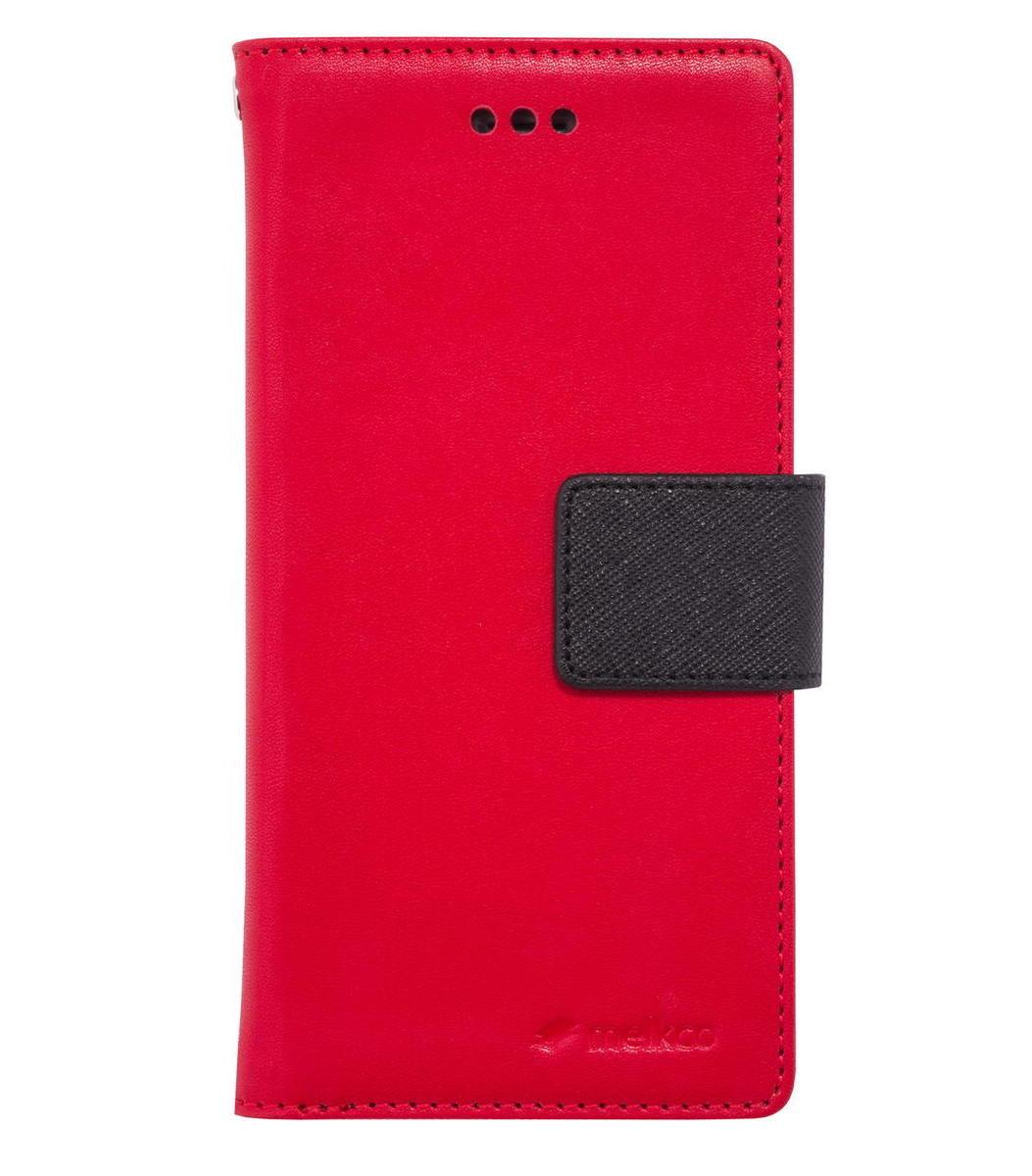 "iPhone 6 Plus/6S Plus 5.5"" Pure 系列 人造皮手機套 - 紅色/黑色"