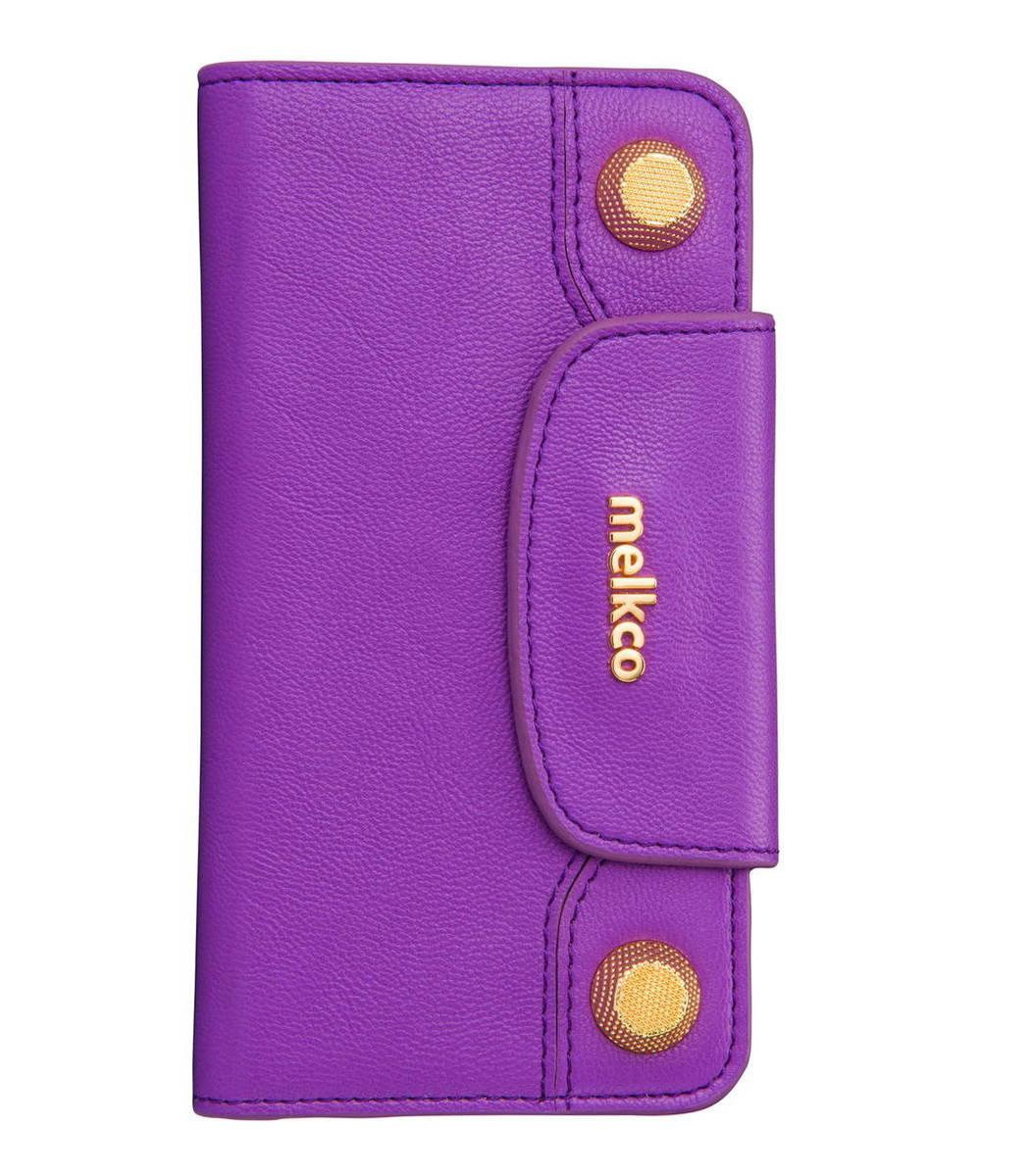 "iPhone 6/6S- 4.7"" Sarina 系列  高级真牛皮手機套 - 紫色"