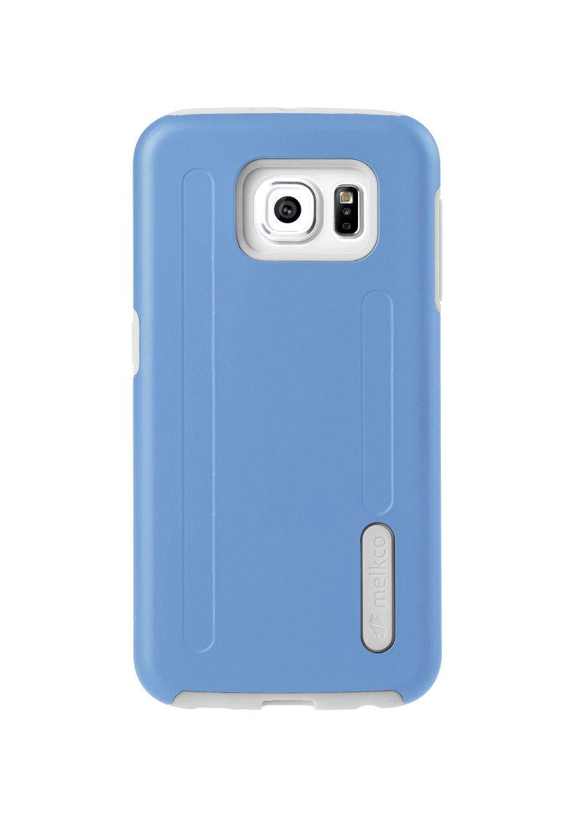 Kubalt Galaxy S6 雙層手機保護殼 - 藍色/白色(附送屏幕保護貼)