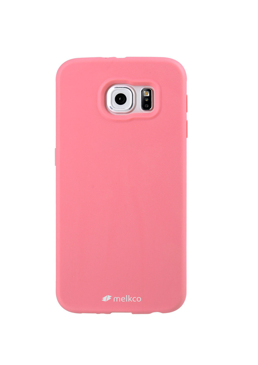 Galaxy S6 Poly Jacket 手機保護殼 - 粉紅色(附送屏幕保護貼)