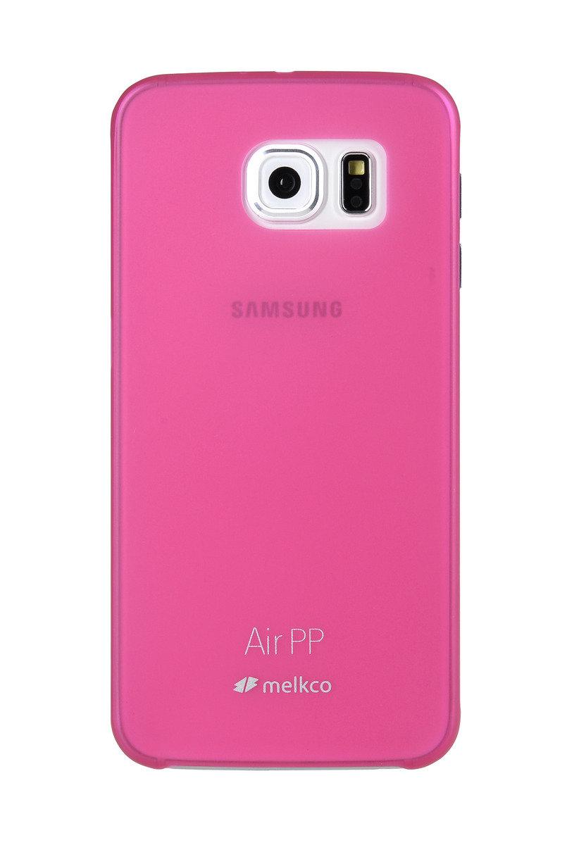 Galaxy S6 Air PP 超薄防刮殼 - 紅色(附送屏幕保護貼)