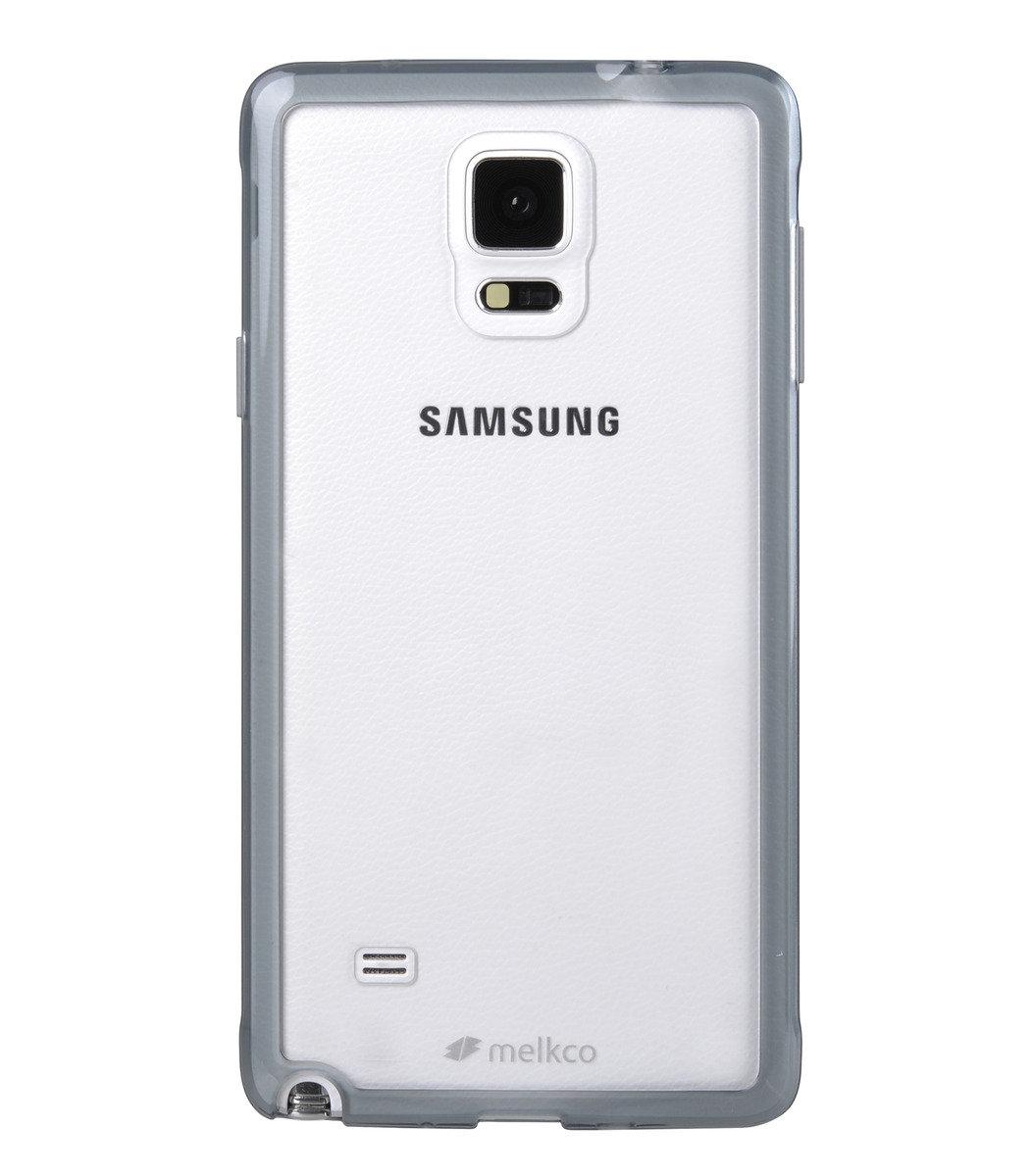 Galaxy Note 4 PolyUltima手機保護殼 - 透明黑色(附送屏幕保護貼)