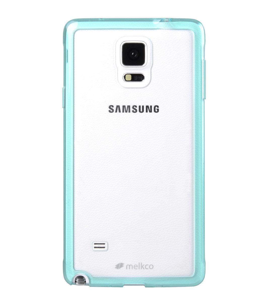 Galaxy Note 4 PolyUltima 手機保護殼 - 透明綠色(附送屏幕保護貼)