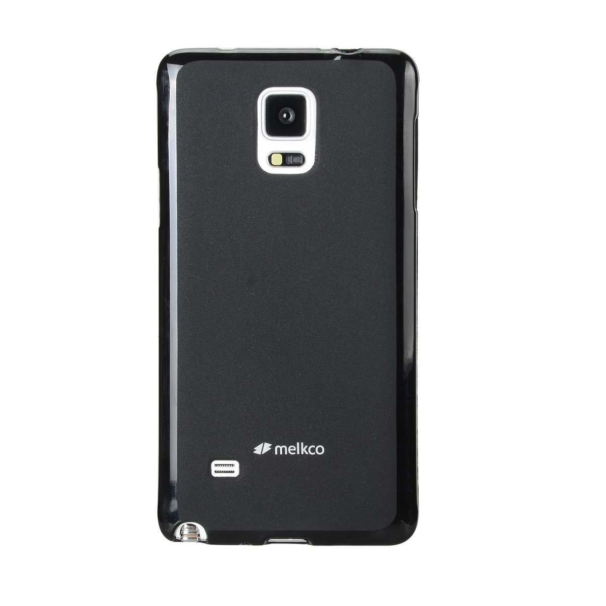 Galaxy Note 4 Poly Jacket 手機保護殼 - 黑色(附送屏幕保護貼)