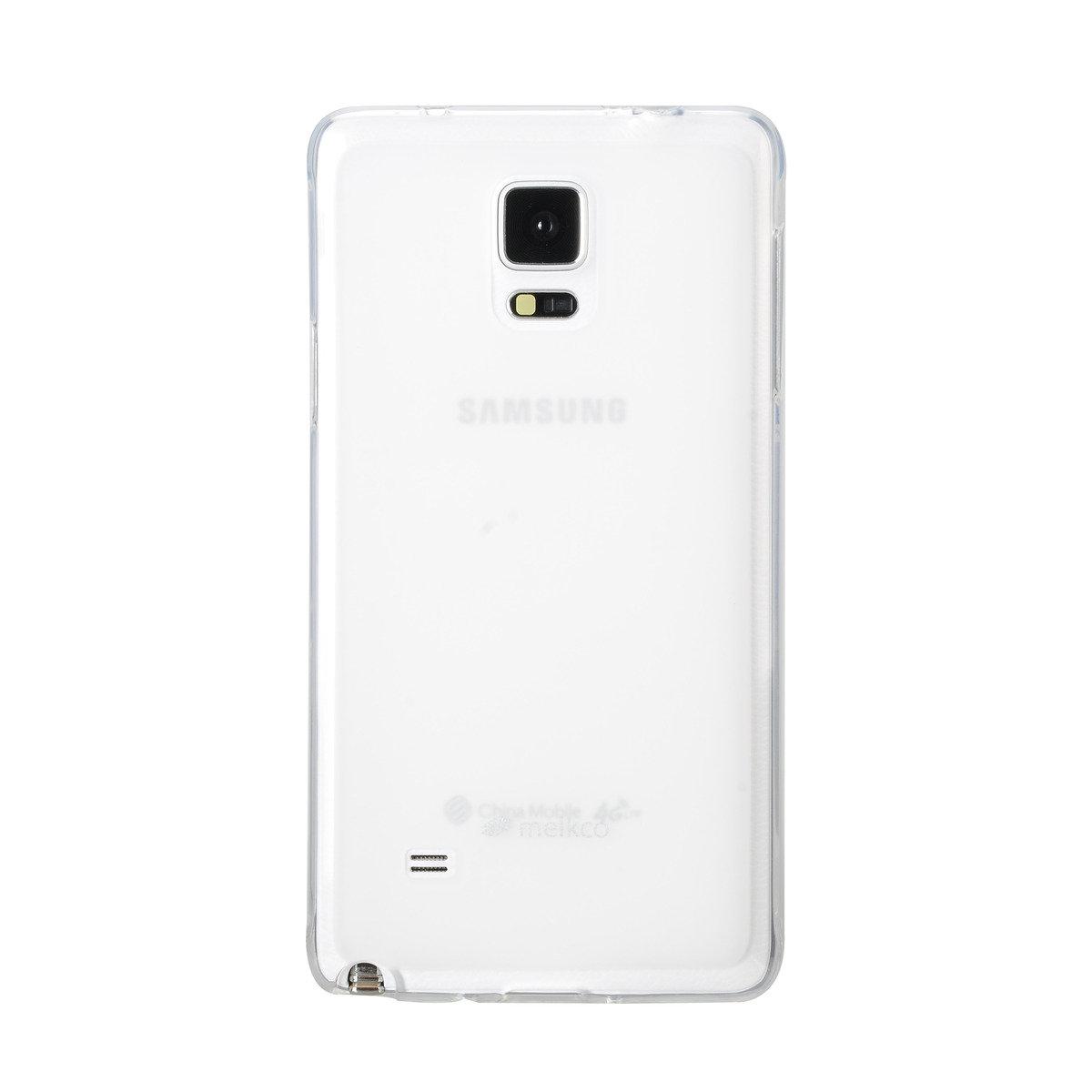 Galaxy Note 4 Poly Jacket 手機保護殼 - 透明色(附送屏幕保護貼)