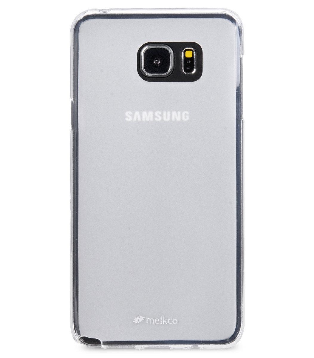 Galaxy Note 5 Poly Jacket 手機保護殼 - 透明色(附送屏幕保護貼)