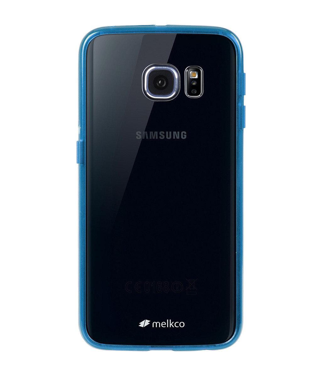 Galaxy S6 Edge PolyUltima 手機保護殼 - 透明藍色(附送屏幕保護貼)