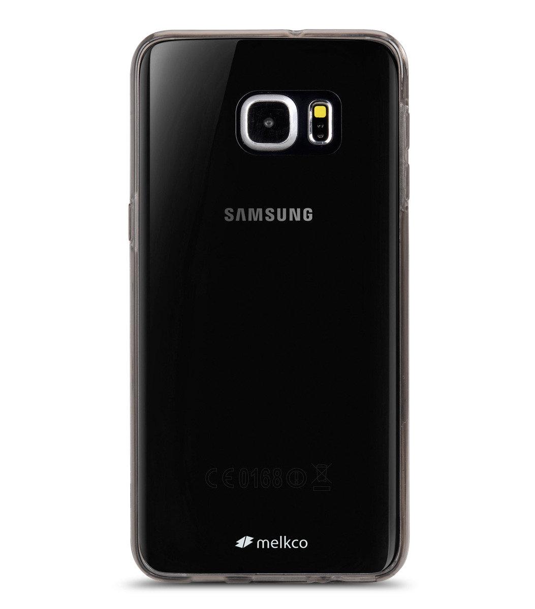 Galaxy S6 Edge Plus PolyUltima手機保護殼 - 透明黑色(附送屏幕保護貼)