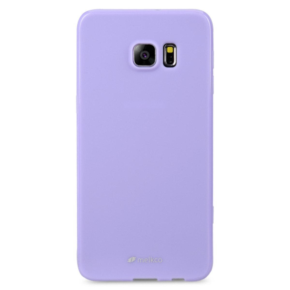 Galaxy S6 Edge Plus Poly Jacket手機保護殼 - 珍珠紫色(附送屏幕保護貼)