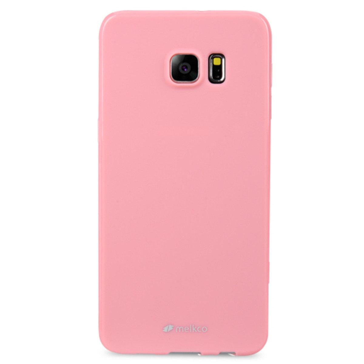 Galaxy S6 Edge Plus Poly Jacket手機保護殼 - 珍珠粉紅色(附送屏幕保護貼)