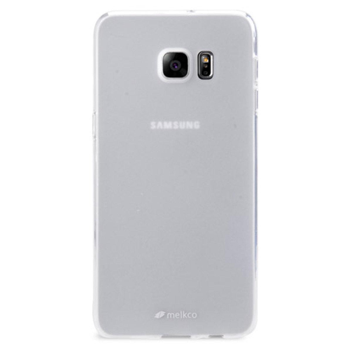 Galaxy S6 Edge Plus Poly Jacket手機保護殼 - 透明色(附送屏幕保護貼)
