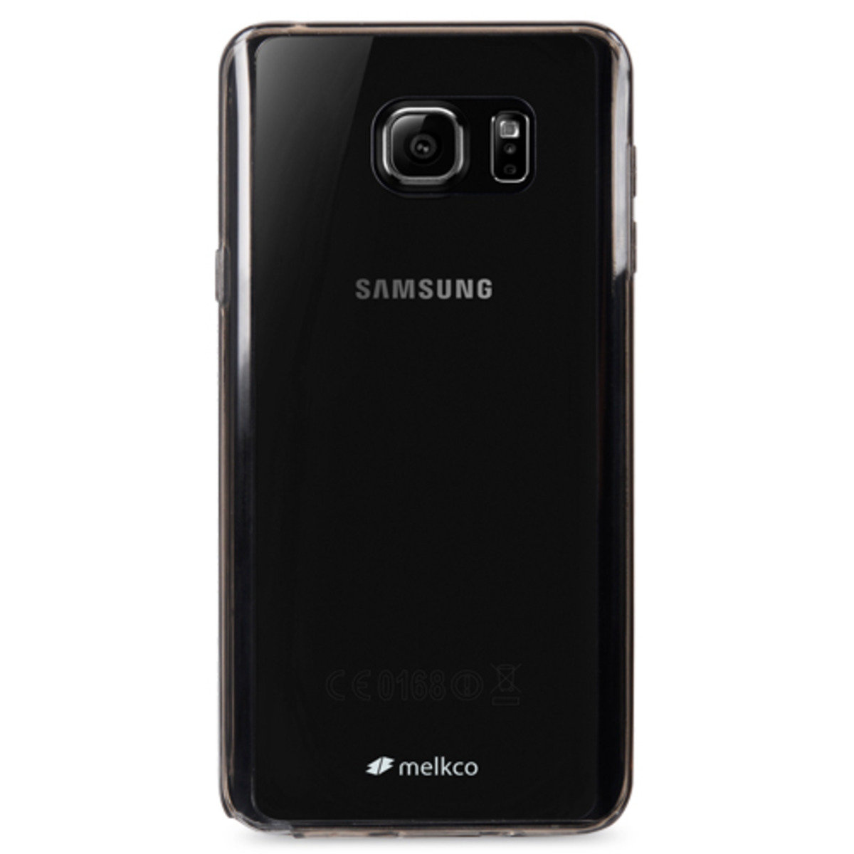 Galaxy Note 5 PolyUltima手機保護殼 - 透明黑色(附送屏幕保護貼)