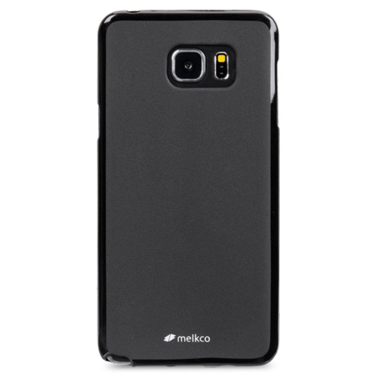 Galaxy Note 5 Poly Jacket手機保護殼 - 黑色(附送屏幕保護貼)