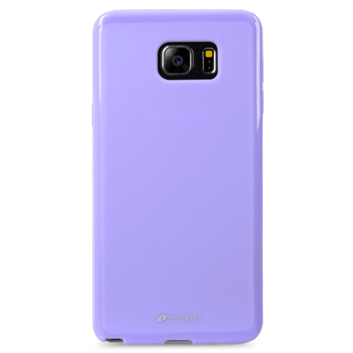 Galaxy Note 5 Poly Jacket手機保護殼 - 珍珠紫色(附送屏幕保護貼)