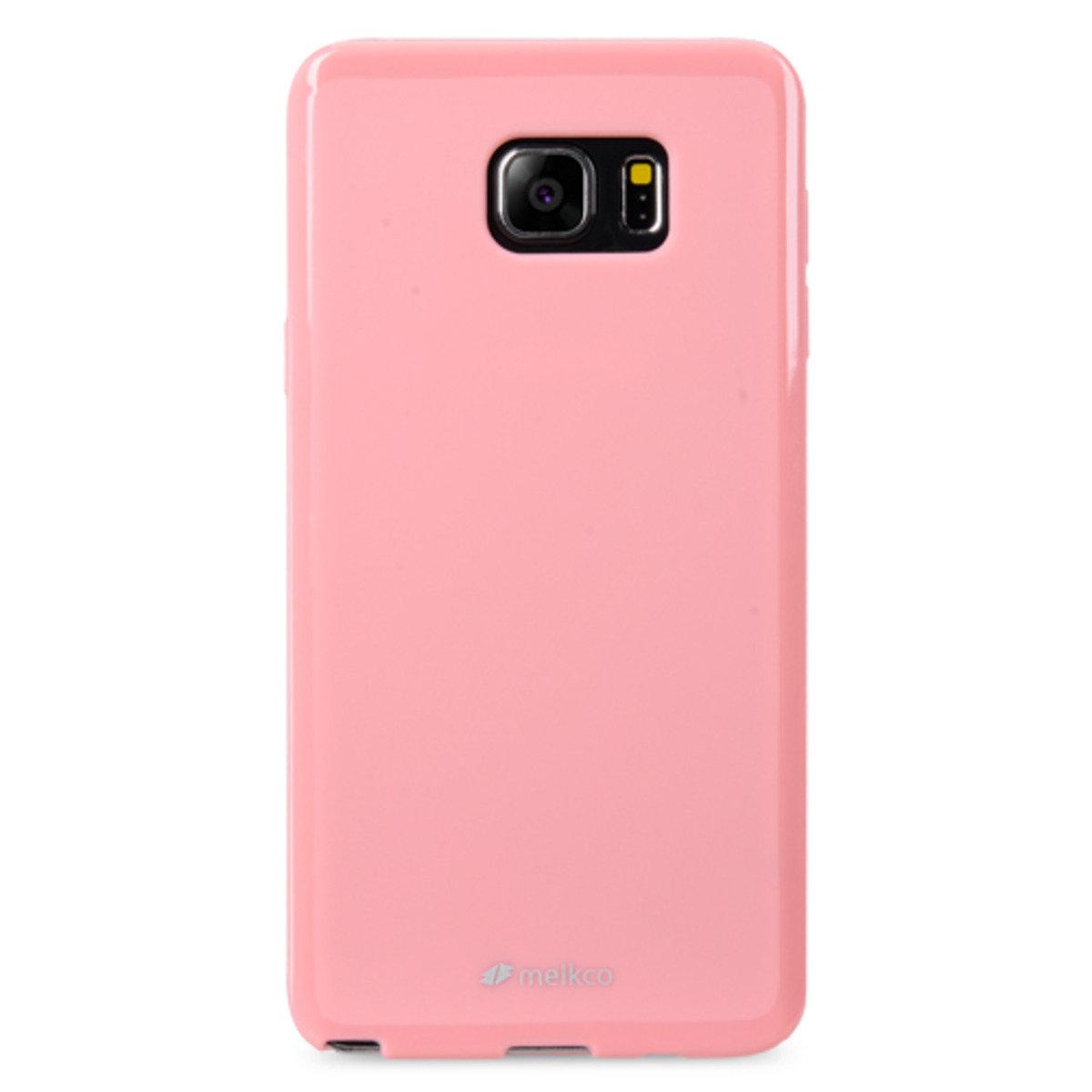 Galaxy Note 5 Poly Jacket手機保護殼 - 珍珠粉紅色(附送屏幕保護貼)