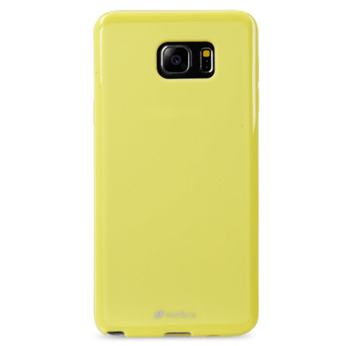 Galaxy Note 5 Poly Jacket手機保護殼 - 珍珠黃色(附送屏幕保護貼)