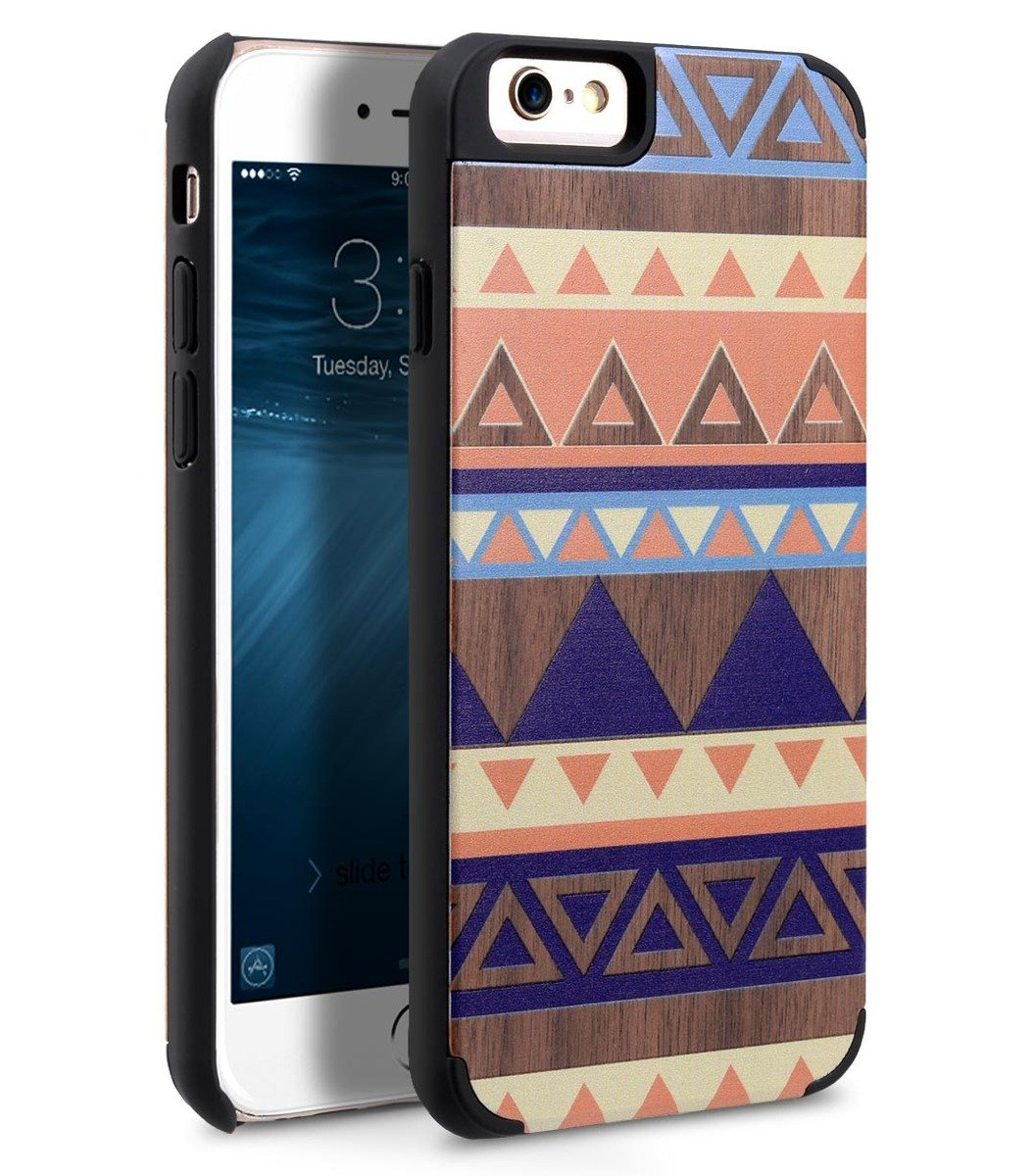 "Apple iPhone 6S Plus / 6 Plus - 5.5"" Indi Wood 保護殼"