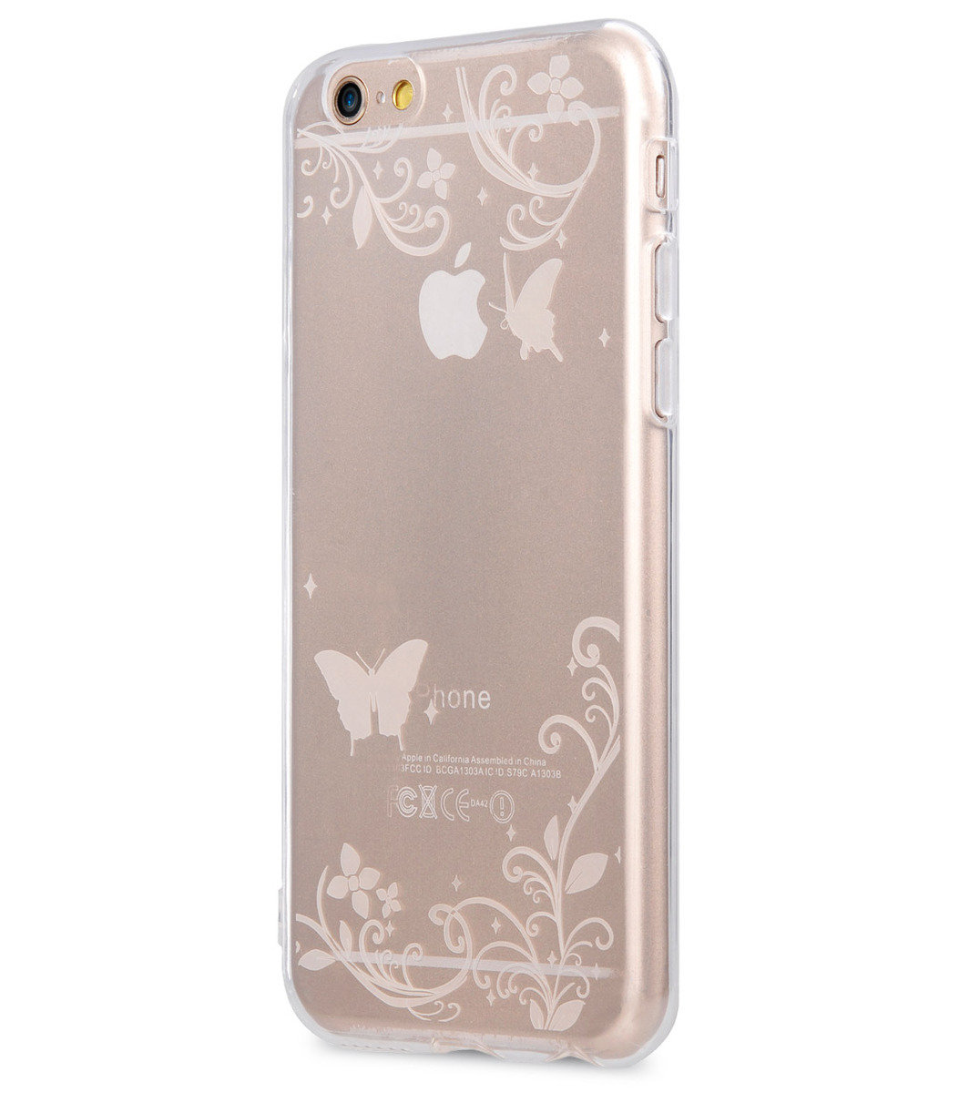 Nation TPU殼 IPhone 6S/ 6 - 4.7'' (透明蝴蝶)
