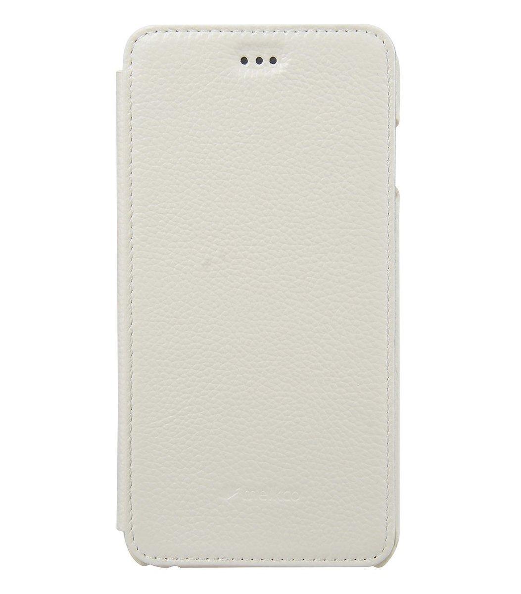 "Apple iPhone 6/6S (4.7"") Face cover book 高級真皮革手機套 (白色荔枝條紋)"