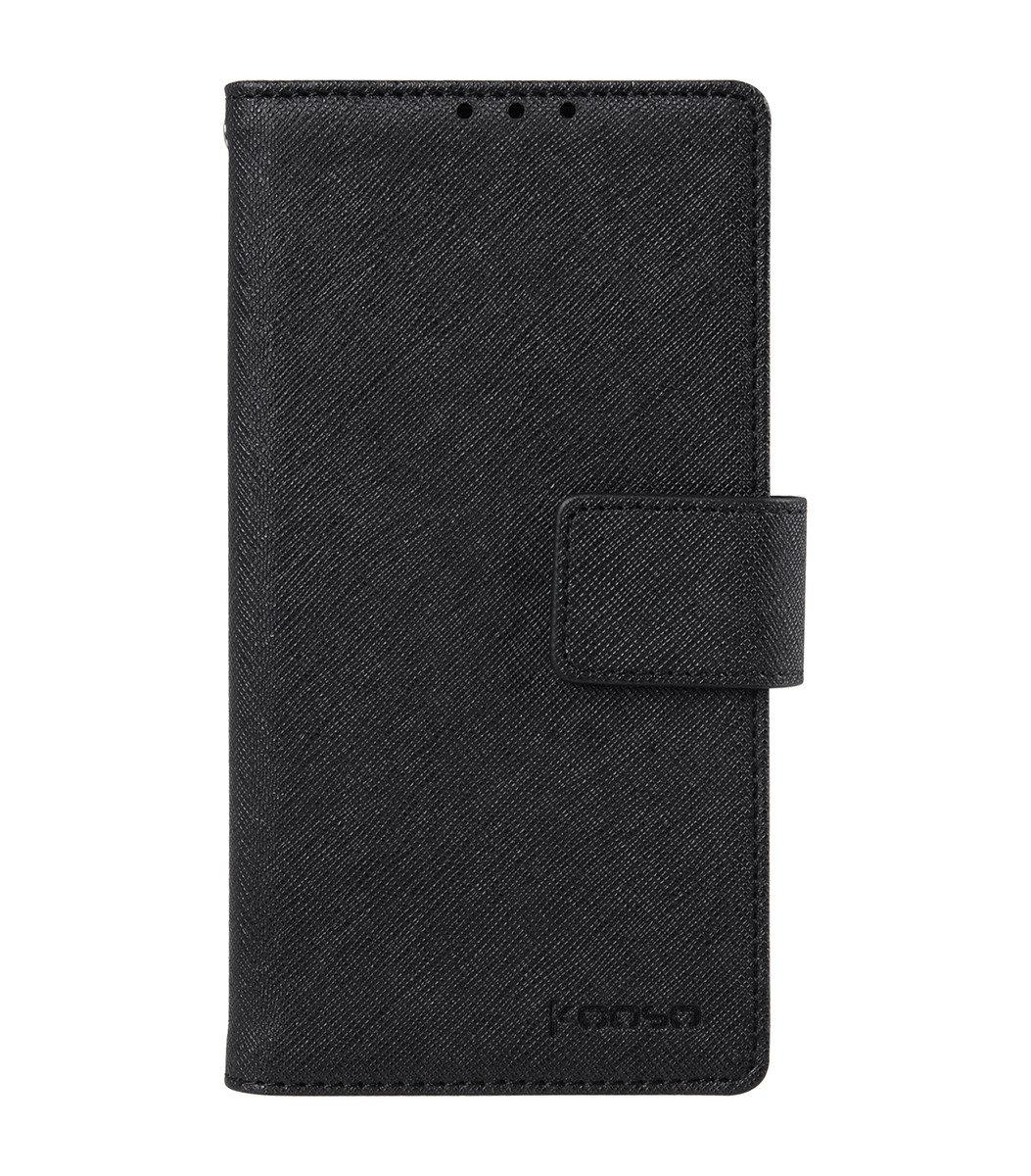 Sony Xperia Z4 Koo Book 手機套 (黑色十字紋)