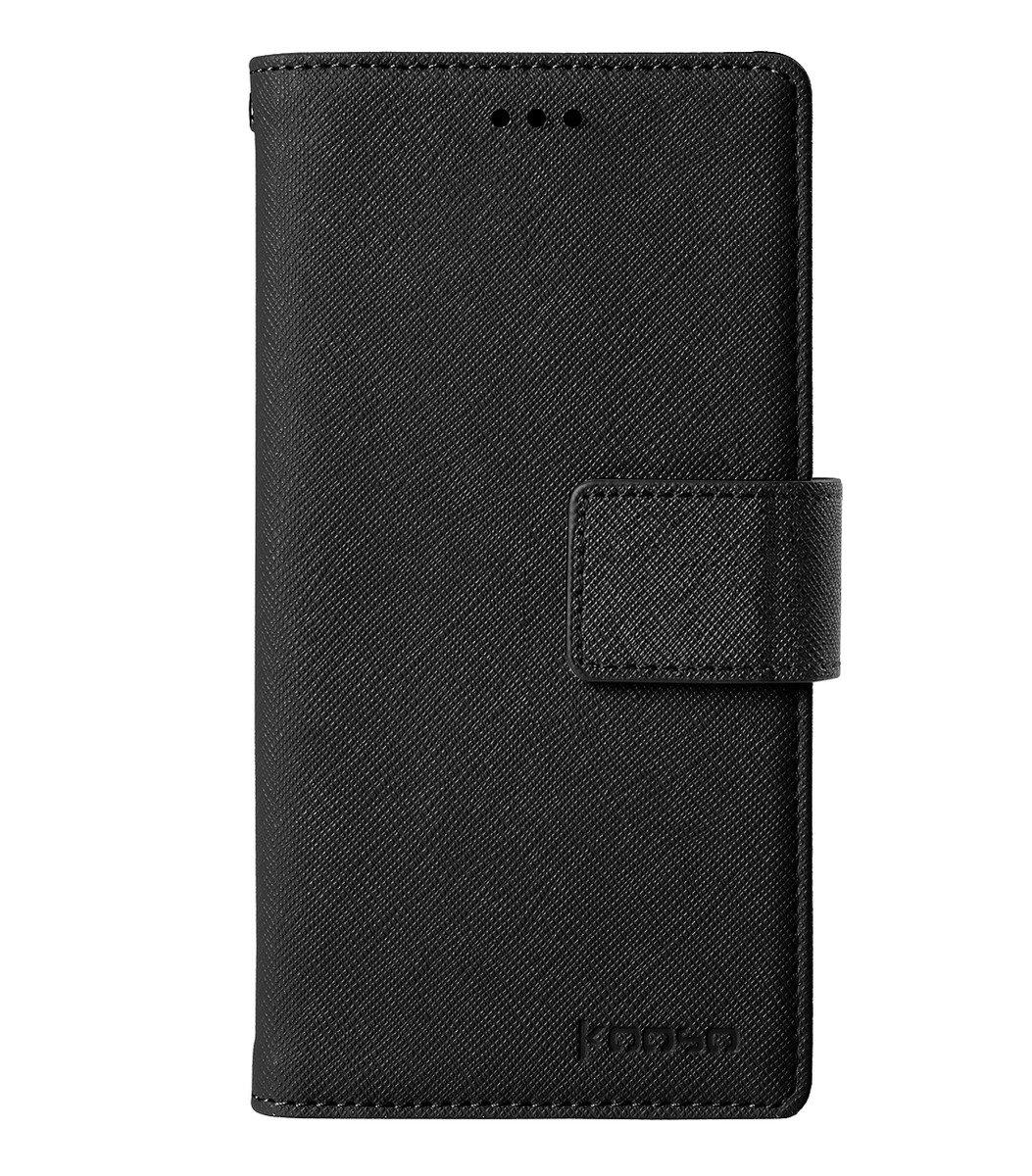 Samsung Galaxy S6 Koo Book 手機套 (黑色十字紋)