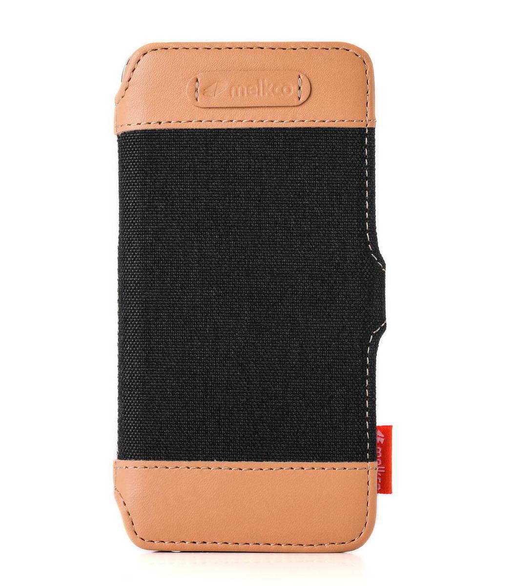 "Apple Iphone 6 Plus/6s Plus (5.5"") Booka Style Cru系列高級時尚真皮手機套(黑色)"